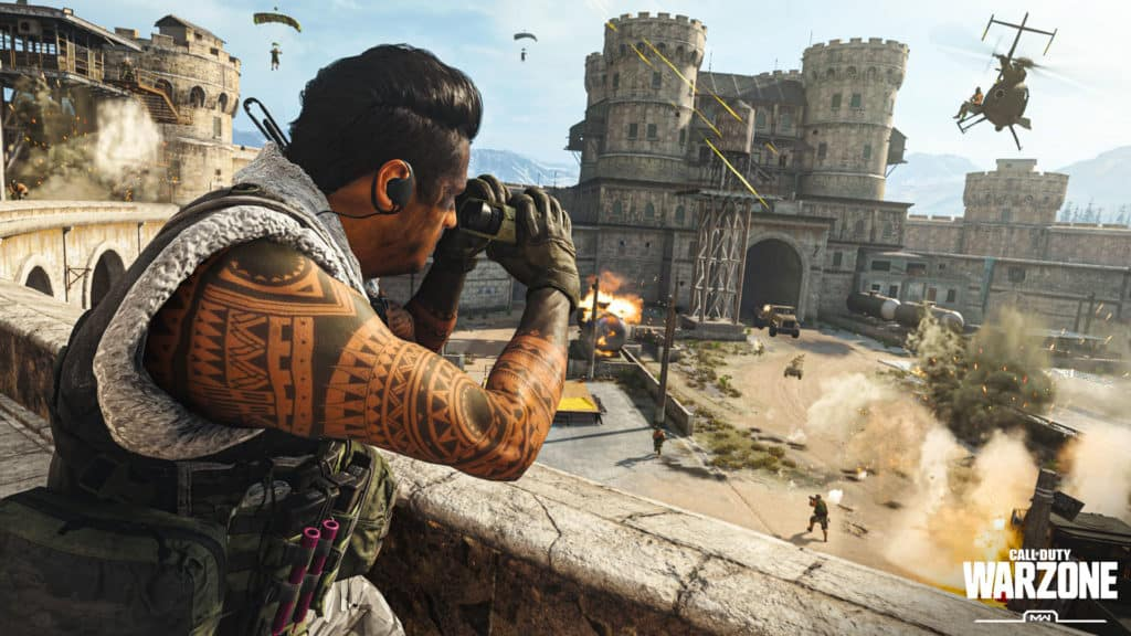 Call Of Duty Warzone Free-to-Play: el mayor desafío para los rivales de Battle Royale